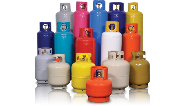 Portable Cylinders L.P. Gas